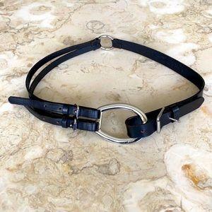 Lauren Ralph Lauren Equestrian Leather Belt